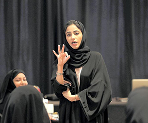 UAE Portrait of a Nation: Emirati uses sign language 'superpower' to give a voice to the deaf