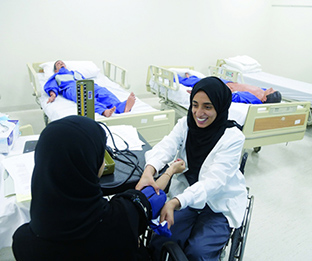 UAEU student proves that you can achieve your dreams even with a disability